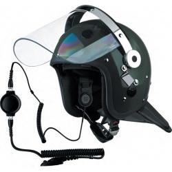 Kit éléctro-acoustique « OSTEOPOL » pour casques de maintien de l'ordre